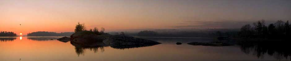 Sunrise on Blue Hill Bay